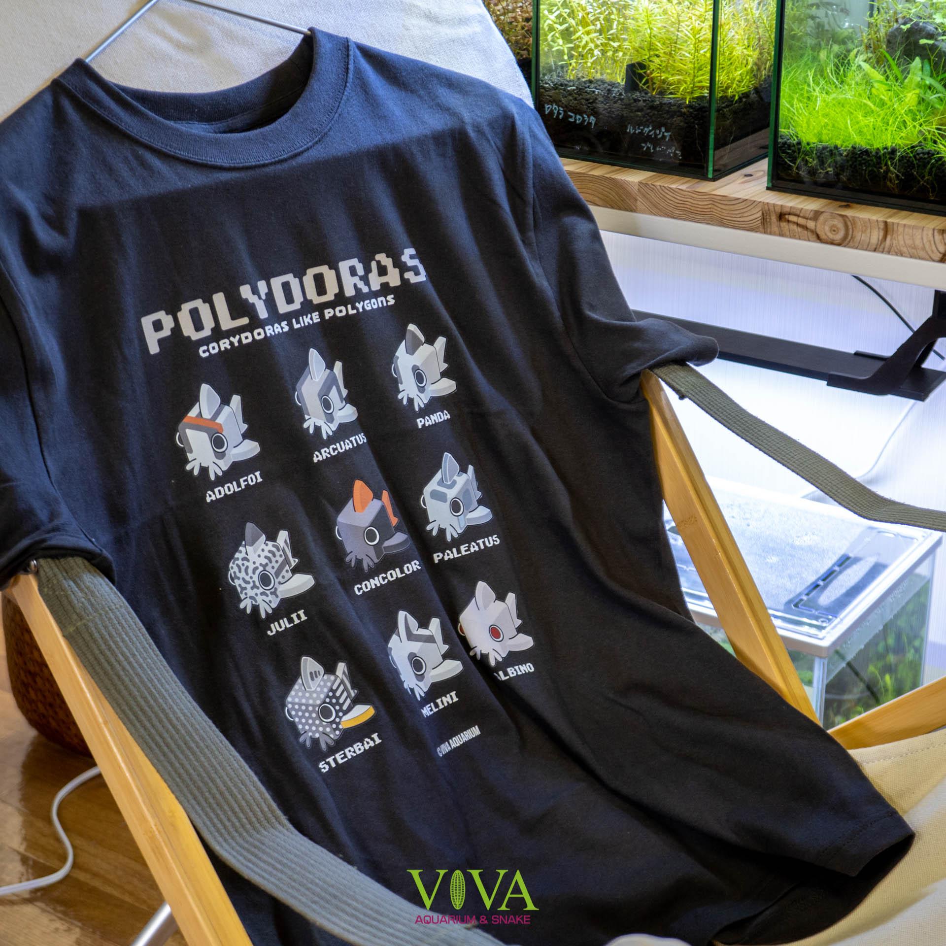 ポリドラスTシャツ販売開始!