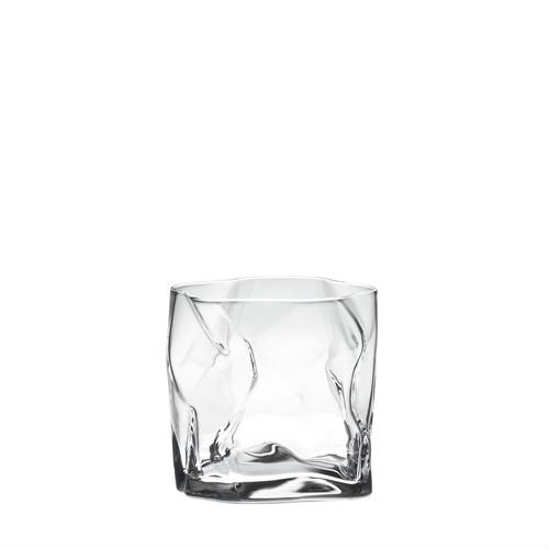 冷たいドリンクが似合うスタイリッシュなデザイングラス 【木村硝子×小松誠 COM】クランプルオールド