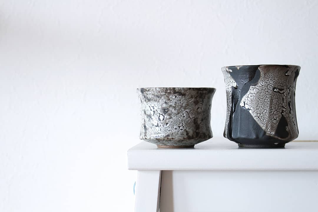 一点一点表情の違う特別な器  陶芸家【高橋 泰明TACERA】  ぐい呑み sakecup