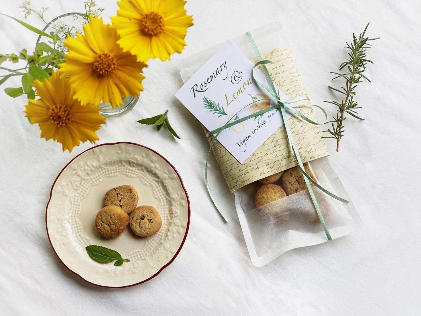 【6月限定❣️】ローズマリーと塩レモンのクッキー