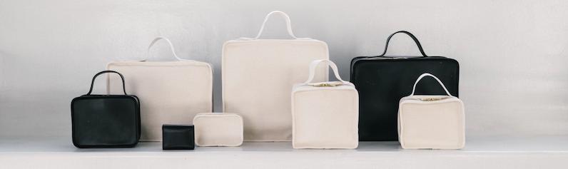 【LIFESTYLIST】倉敷帆布を使用した こだわりのつまったミニマルデザインのバッグ