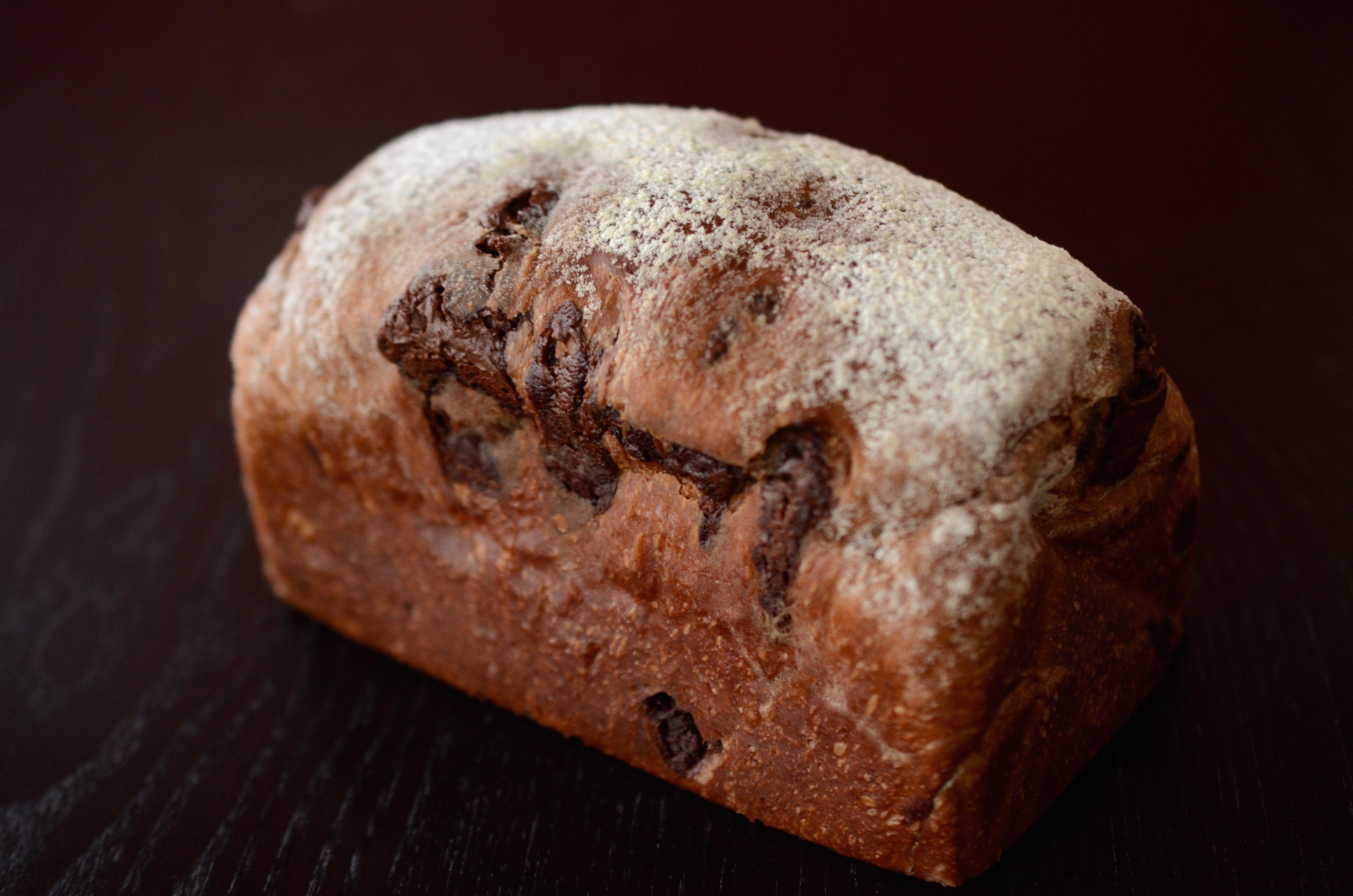 オーガニックチョコレート食パン