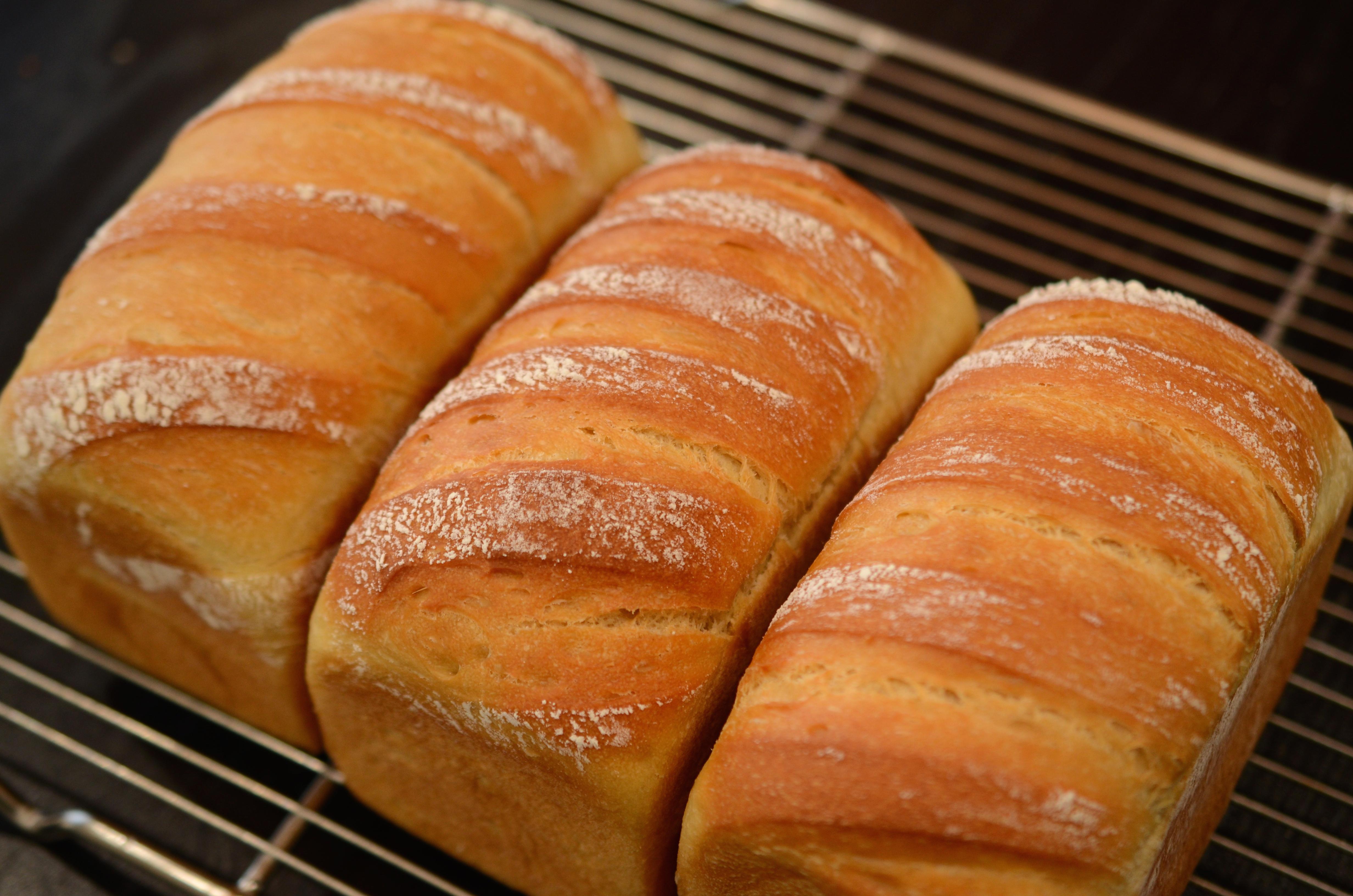 豆乳と素焚和糖の食パン