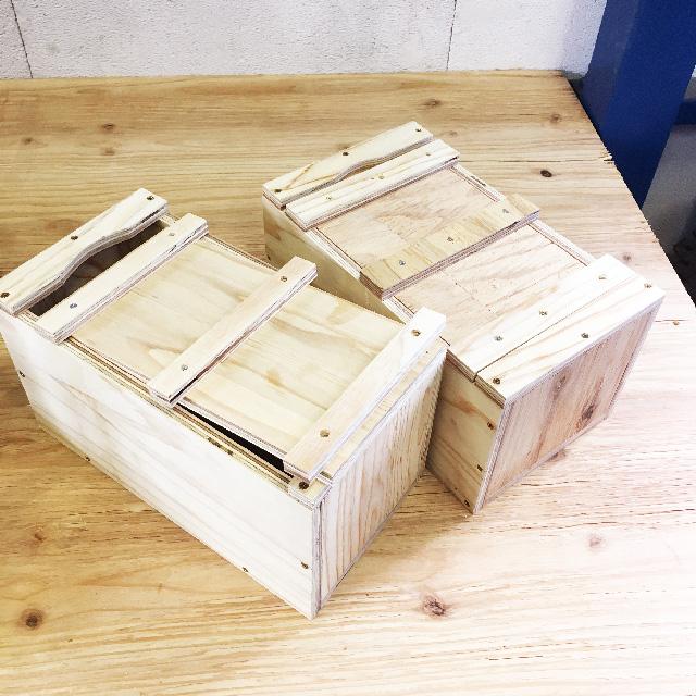 大工の道具箱。