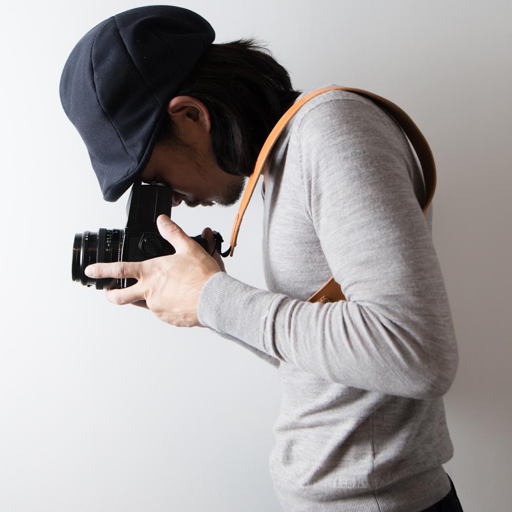 金属を使っていないカメラにやさしいカメラストラップ♪