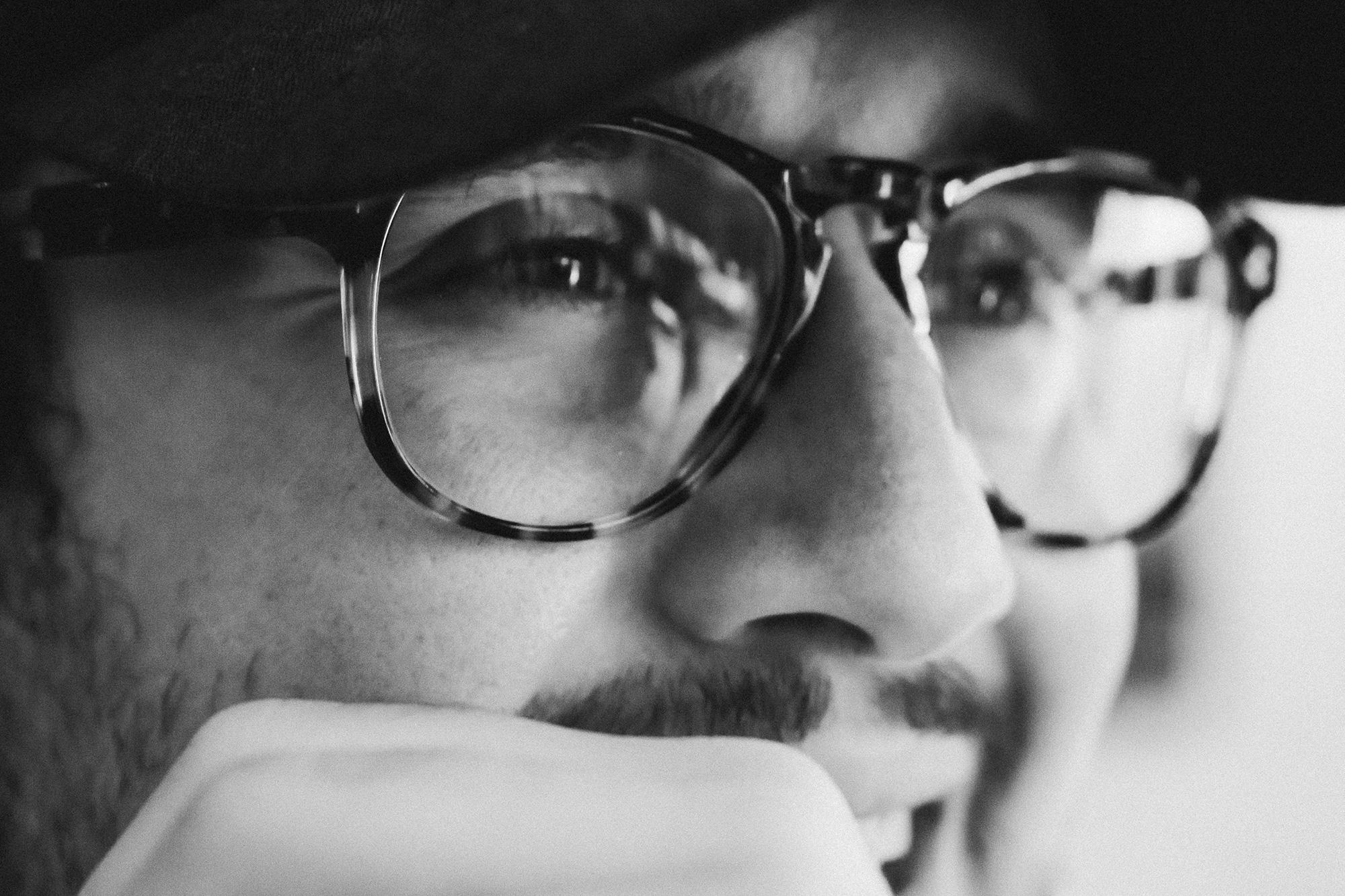 似合うメガネの見つけ方。