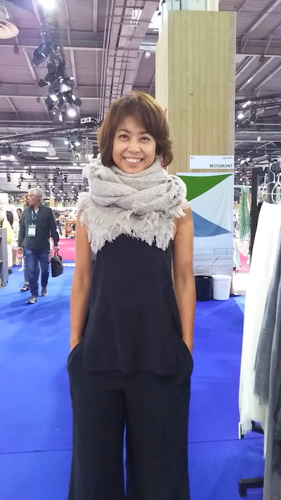 9月1週目からパリのファッション展示会!!