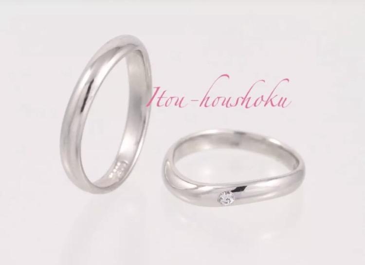 鍛造製法によりフルオーダーにて結婚指輪をお作り致します