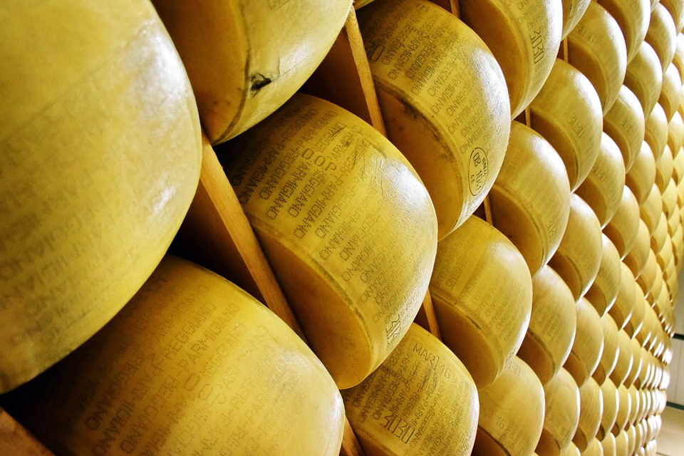 パルメザンとパルミジャーノ・レッジャーノチーズ えっ!?同じチーズじゃなかったの!?