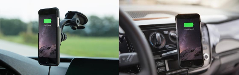 ドライブ中、「iPhone6&7シリーズ」をワイヤレス充電出来る優れもの登場!