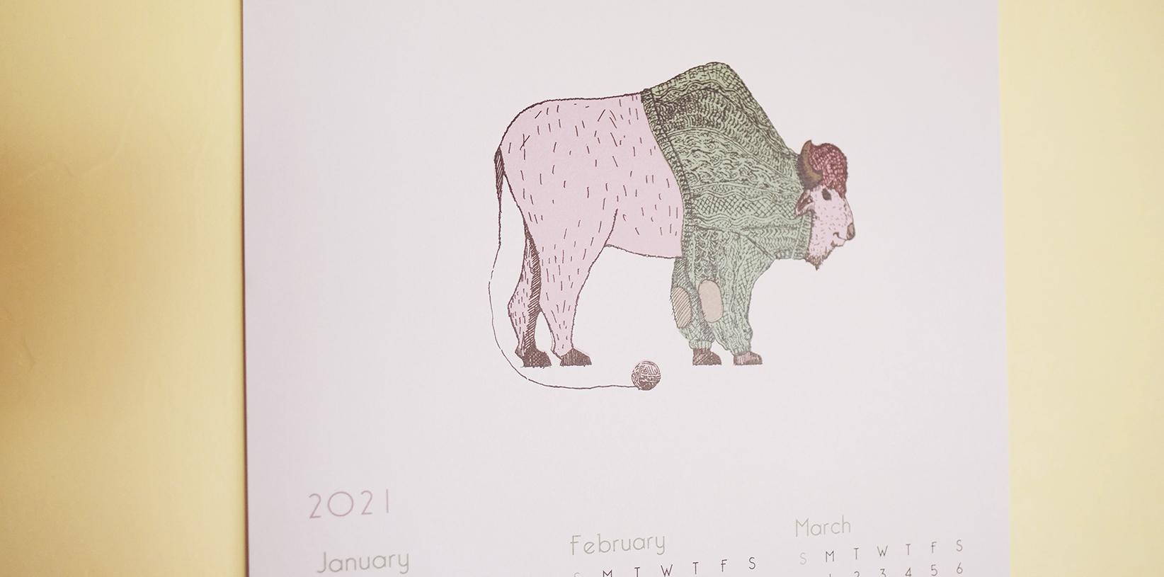 2021 Calendar  ご予約受付開始しました