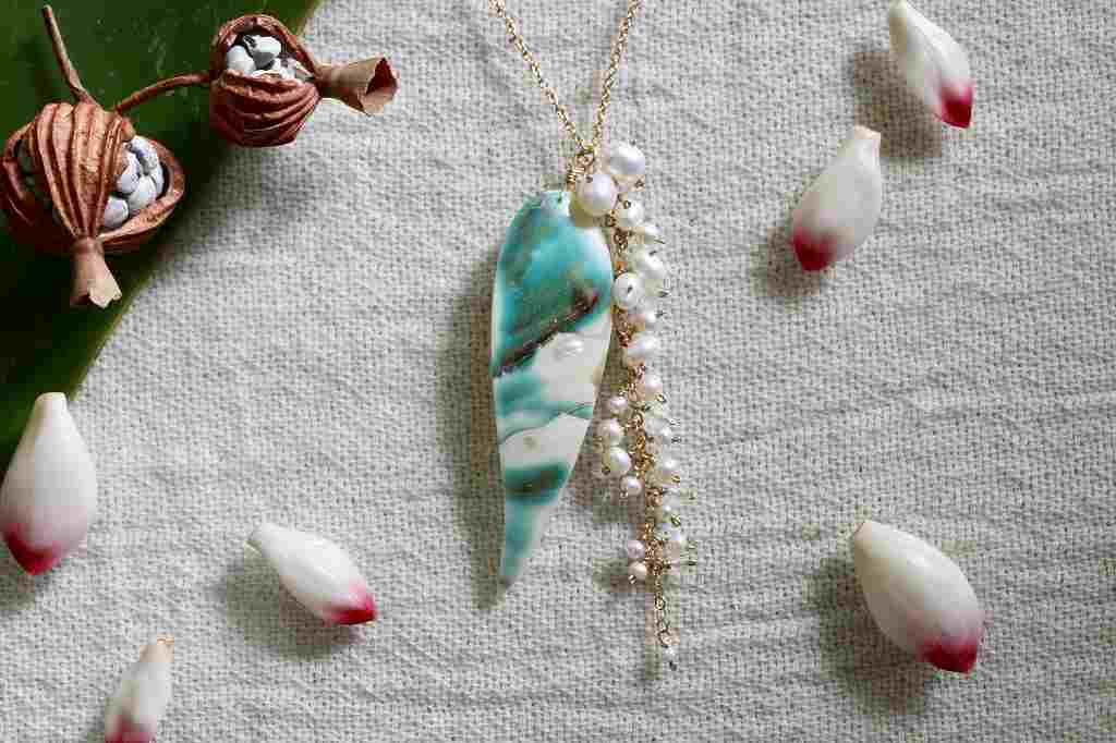 月桃のネックレス