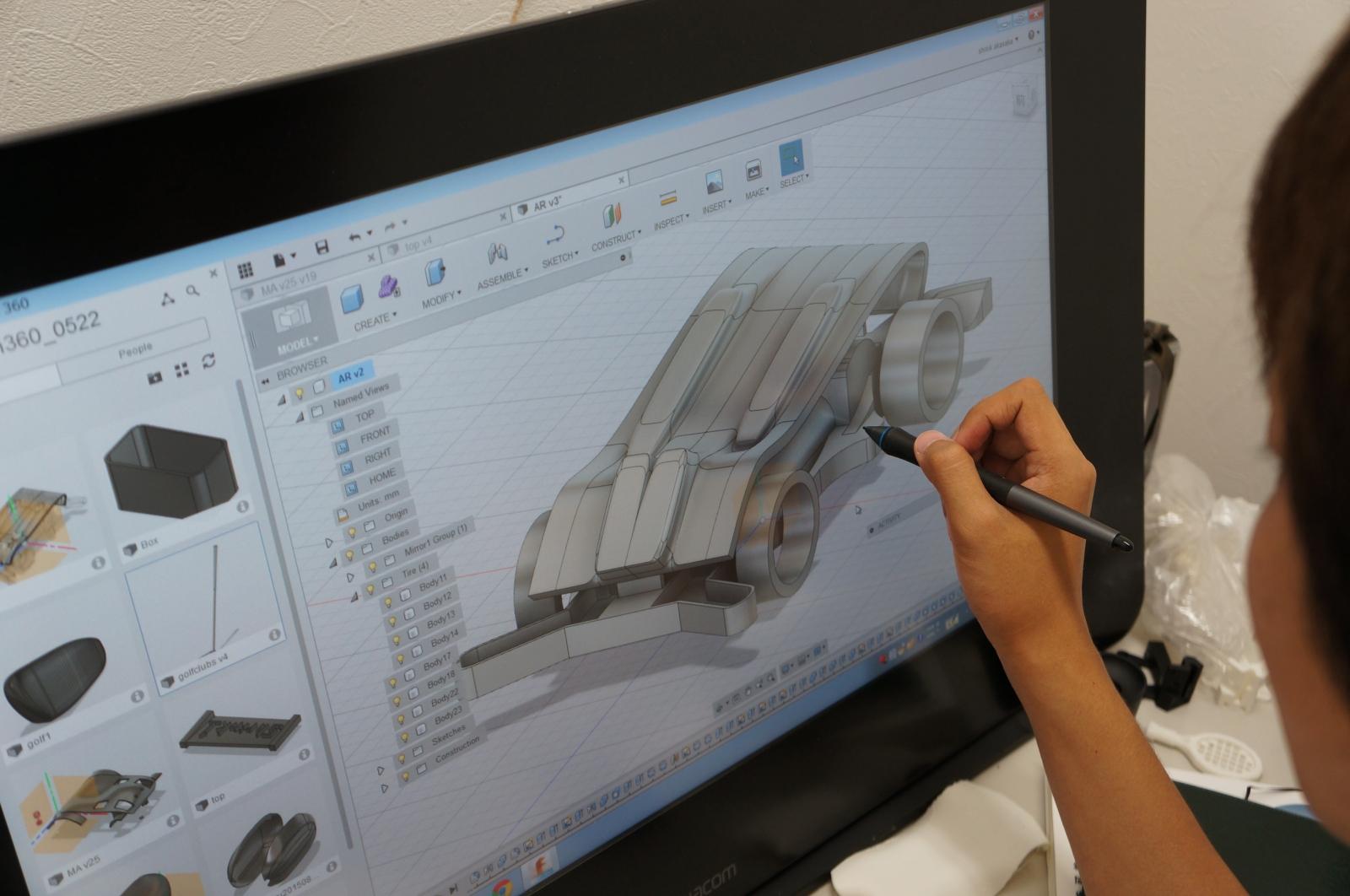 3Dデータ制作専門店が手掛けるジュエリーショップ