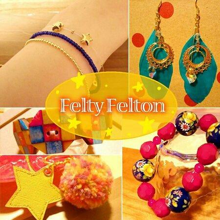 Felty Feltonさん実店舗内レンタルボックスにグッズを出す予定です!