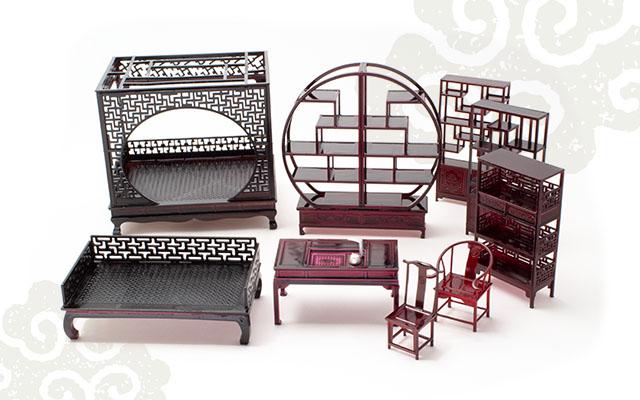[新入荷]中国風ミニチュア家具シリーズ