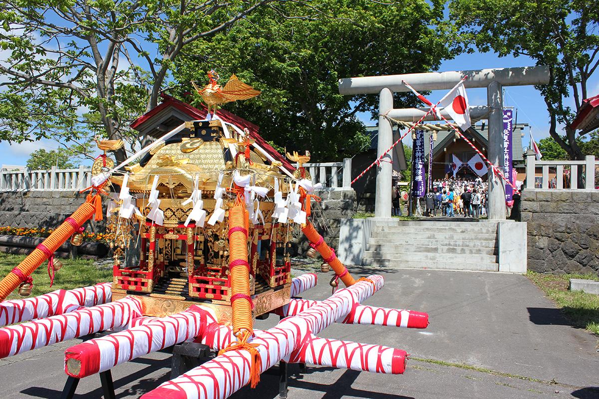 【利尻観光】利尻の夏が始まる!北見神社・利尻山神社例大祭