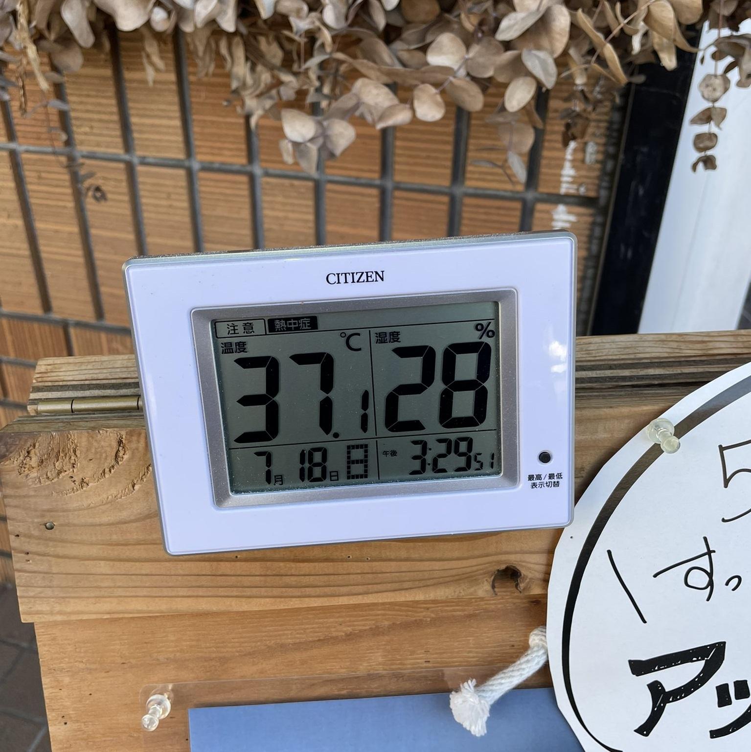 100年ぶりの37度!
