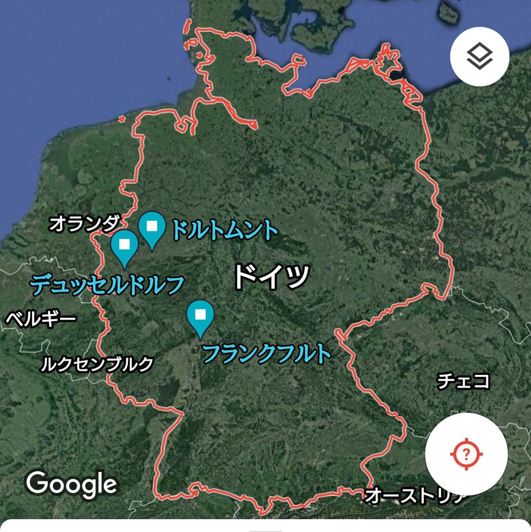 スマートフォンの画面から(ドイツ編)