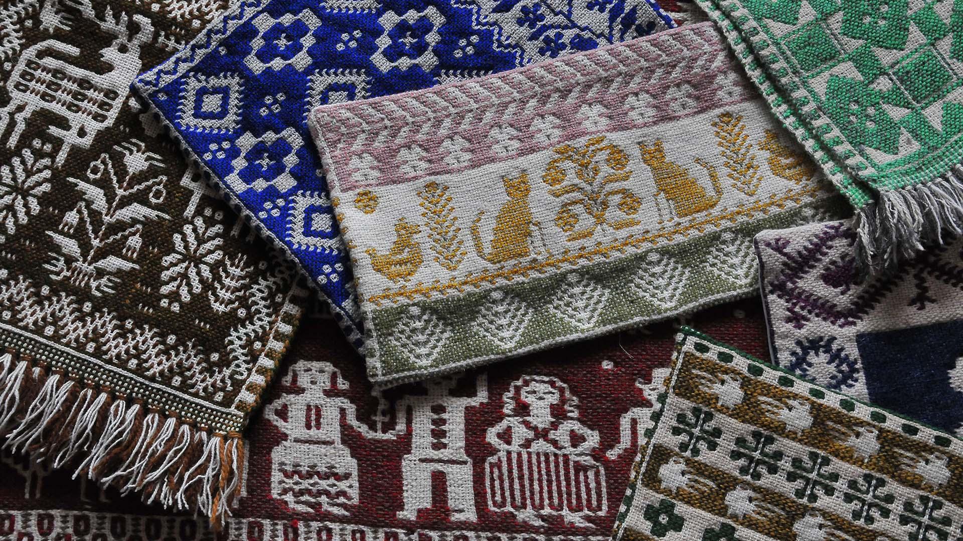 ポーランド・ヤノフ村の織物展 vol.2