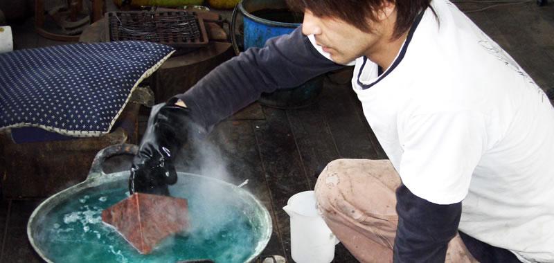伝統技法で作る着色銅の世界