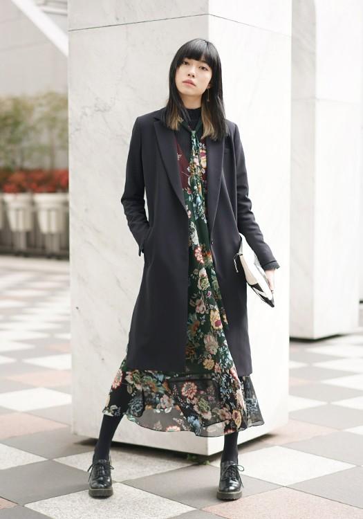 ファッション誌 WEBサイトにお客様のスナップが掲載♪