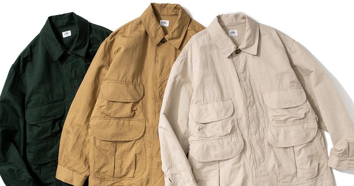 Safari Jacket - 3 Colors