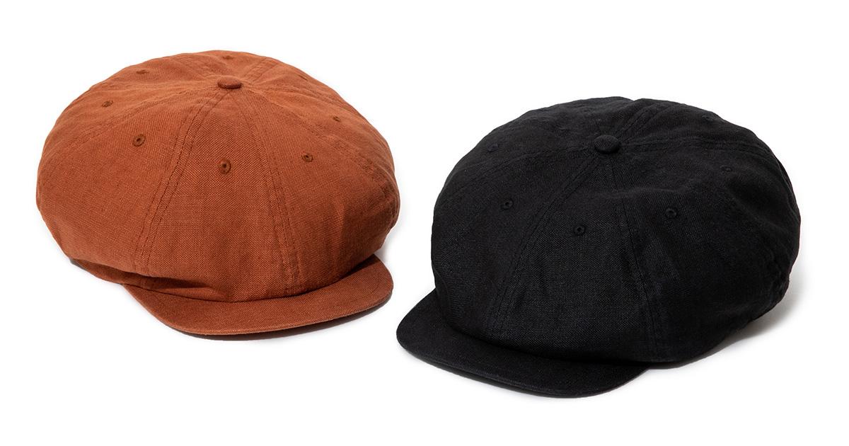 Sports-Newsboy Cap Heavy Linen Ox - 2 Colors