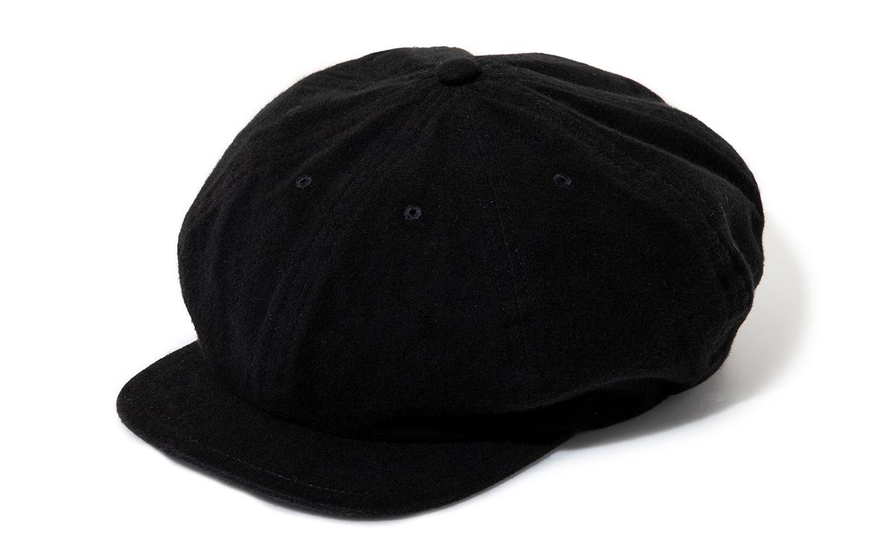 "Sports-Newsboy Cap - Limited Color ""Black"""