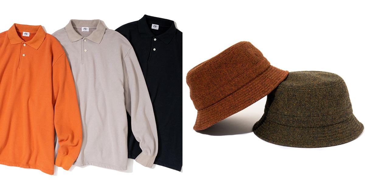 WFH Polo L/S & Wool Twill Bucket Hat