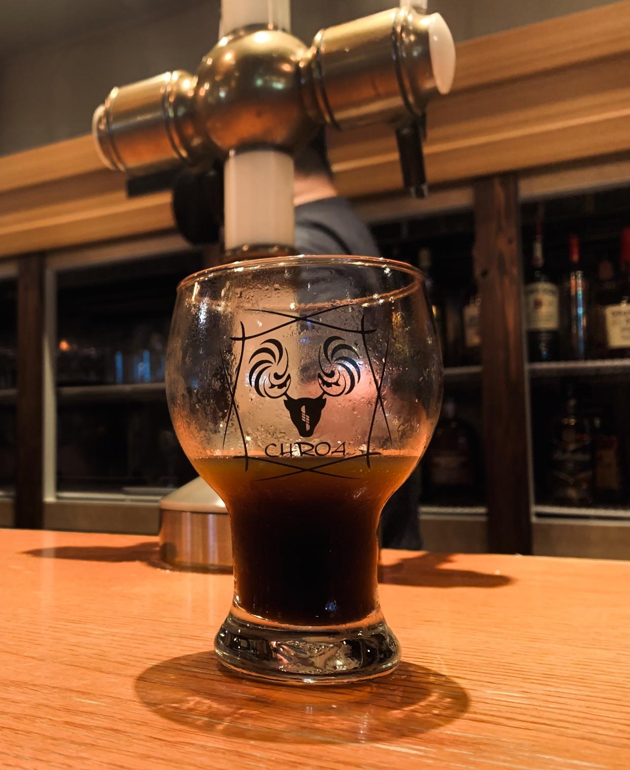 高アルコール熟成ビール 完成。