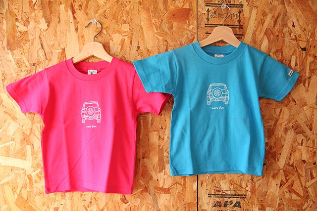 FJクルーザーオリジナルイラストTシャツ(KIDS)