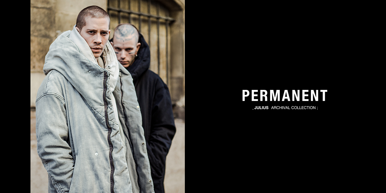 _JULIUS [ PERMANENT ] FALL-WINTER 2020 COLLECTION