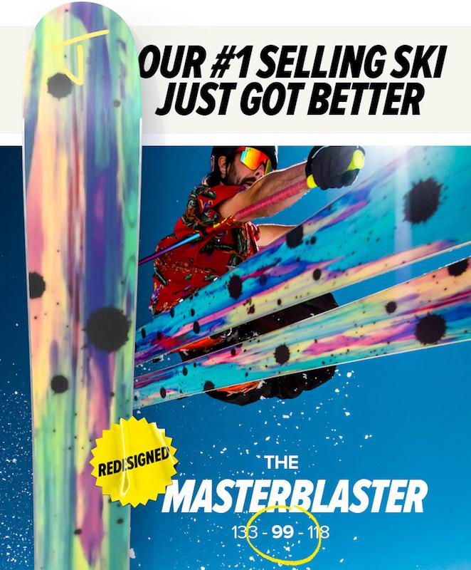 J skis 生まれ変ったマスターブラスター