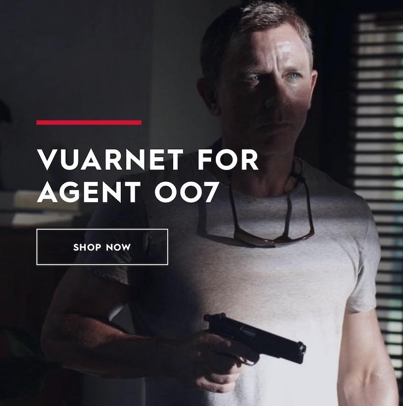 VUARNET FOR AGENT 007