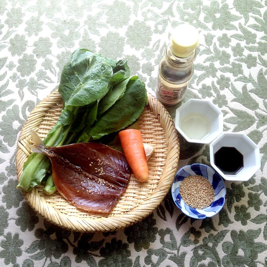 【③COOKS】青あじみりん干しの常備菜