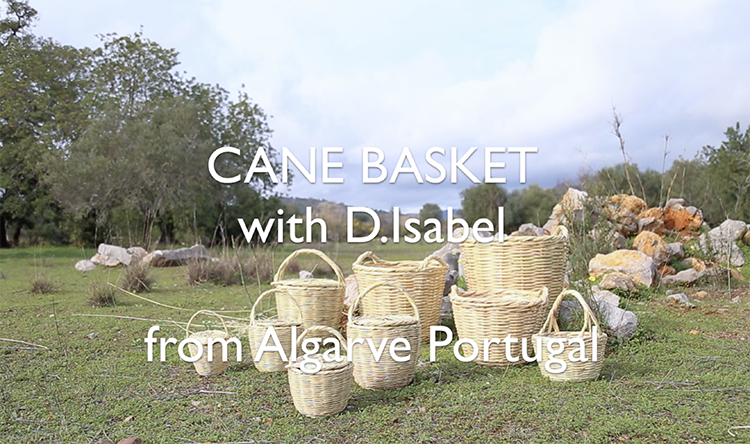 CANE BASKET with D.Isabel from Portugal