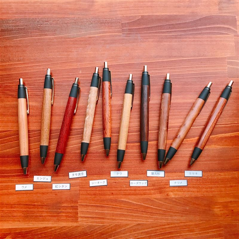 『野原工芸』木のボールペン・スタンダードの販売日について