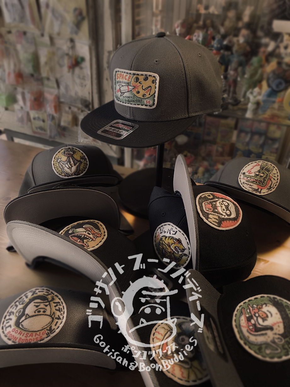 SNAPBACK CAP第二弾