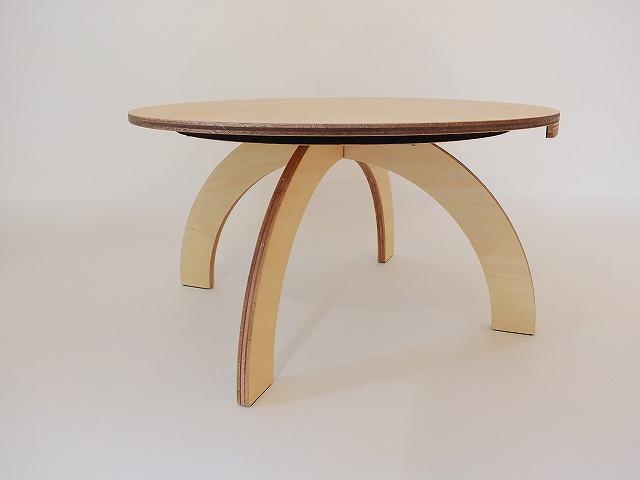 シナ合板 テーブル