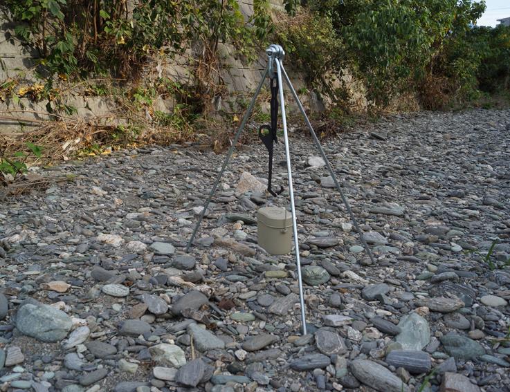 H920-TYPE-CAMPOOPARTS ランタン&直火スタンド