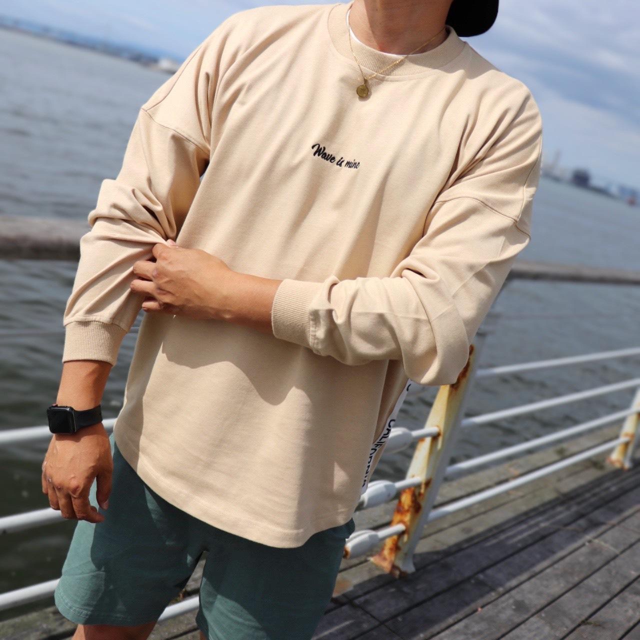 春の人気アイテム☆Oversized Long Sleeve Tee