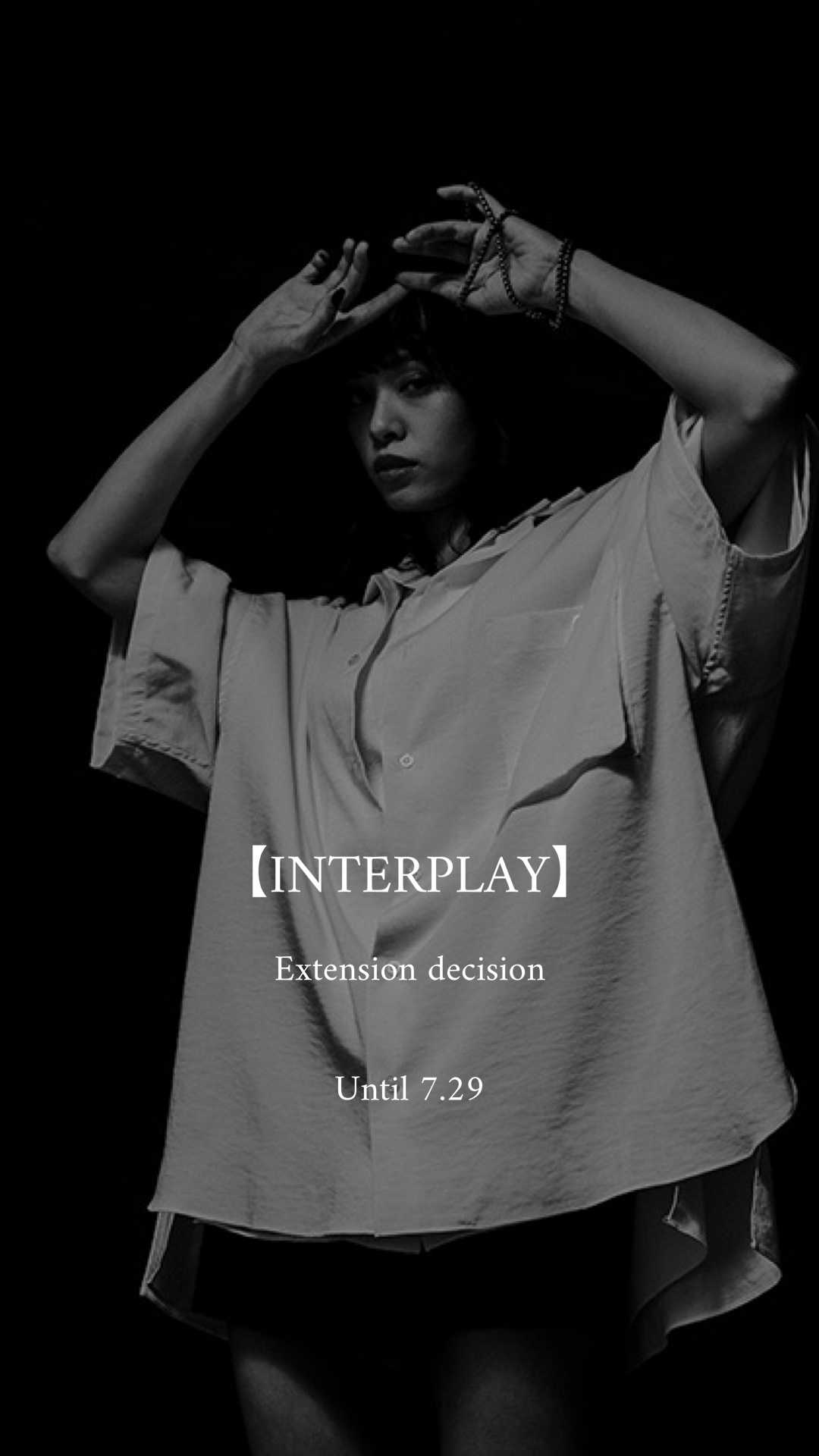 INTER PLAY /Nora Lily  popup 延長決定。