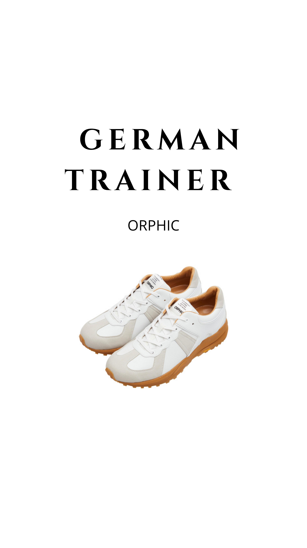 ORPHIC German trainer 入荷しました◎