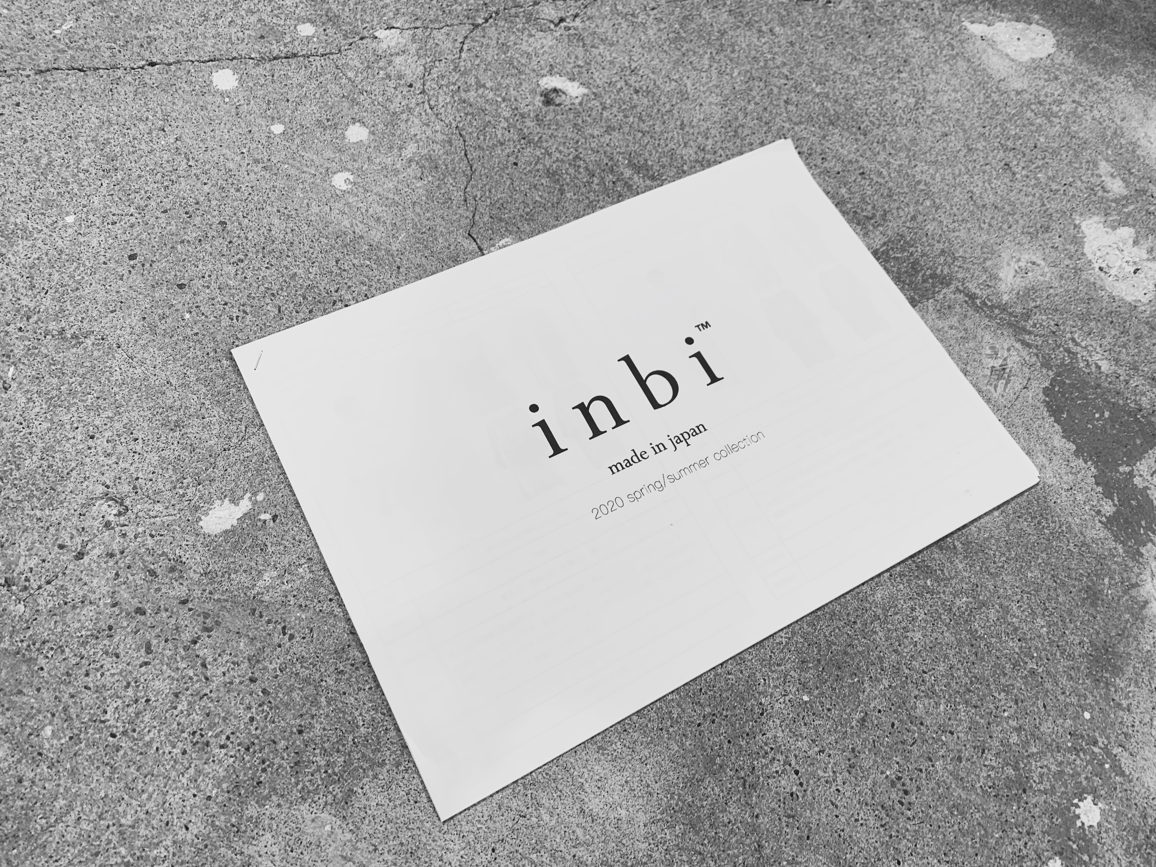【event】 inbi 展示受注会 開催決定。