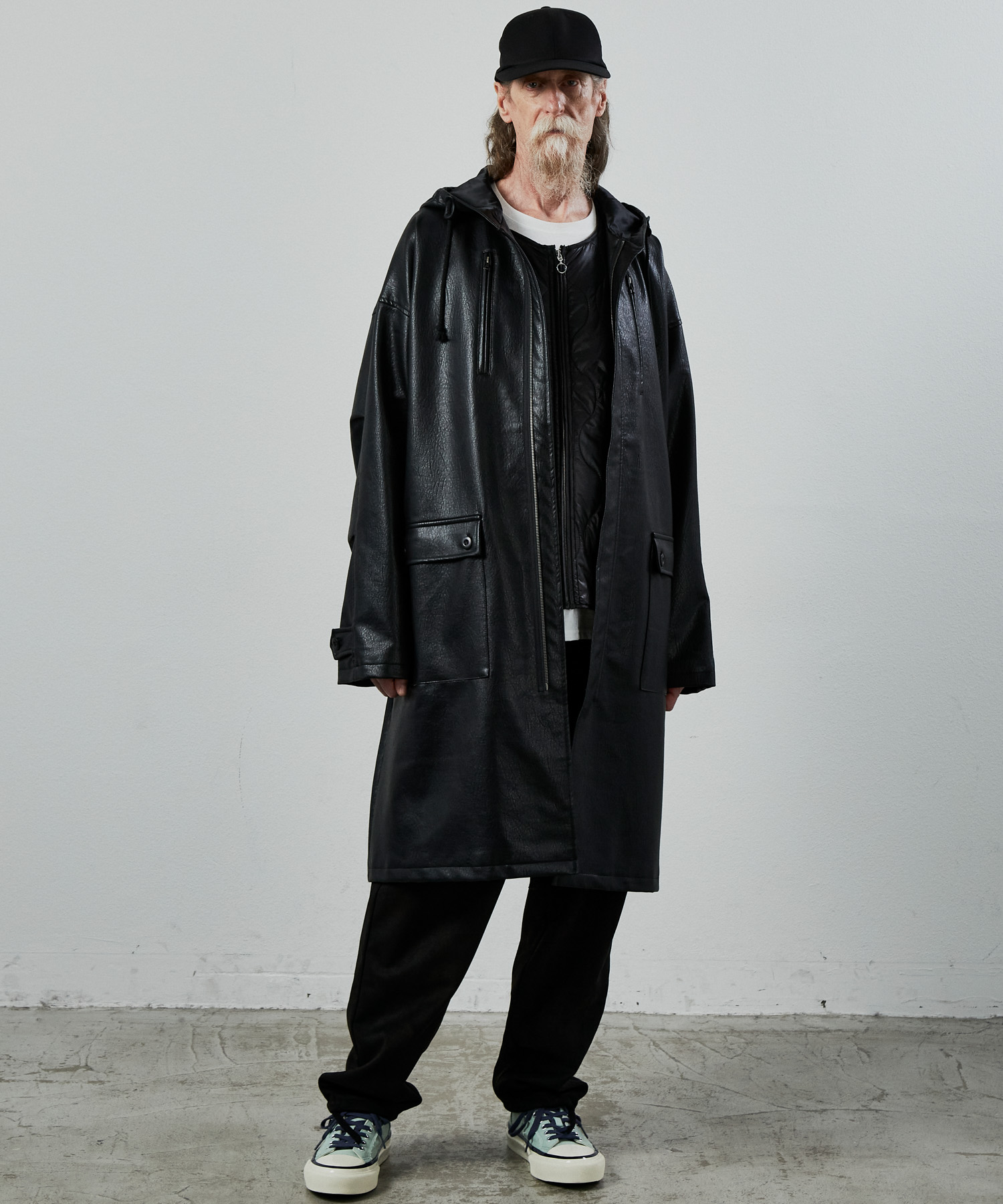 UNSELDs  leather Mods coat 入荷。
