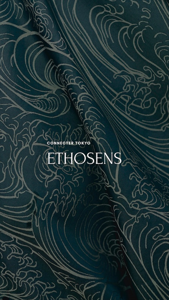 ETHOSENS 2020 AW Collection start