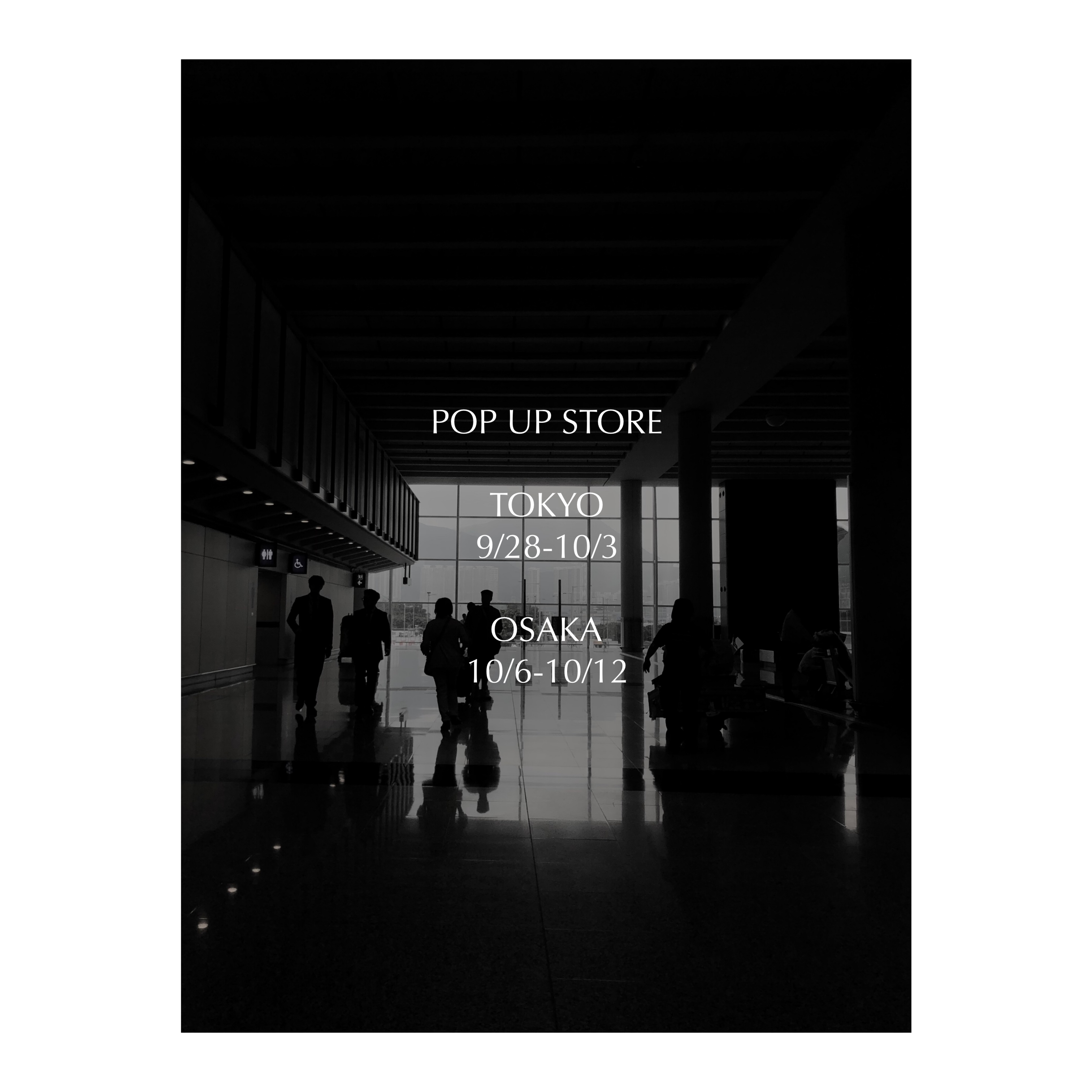 イベント:POP UP STORE(大阪) 阪急梅田 10/6-10/12