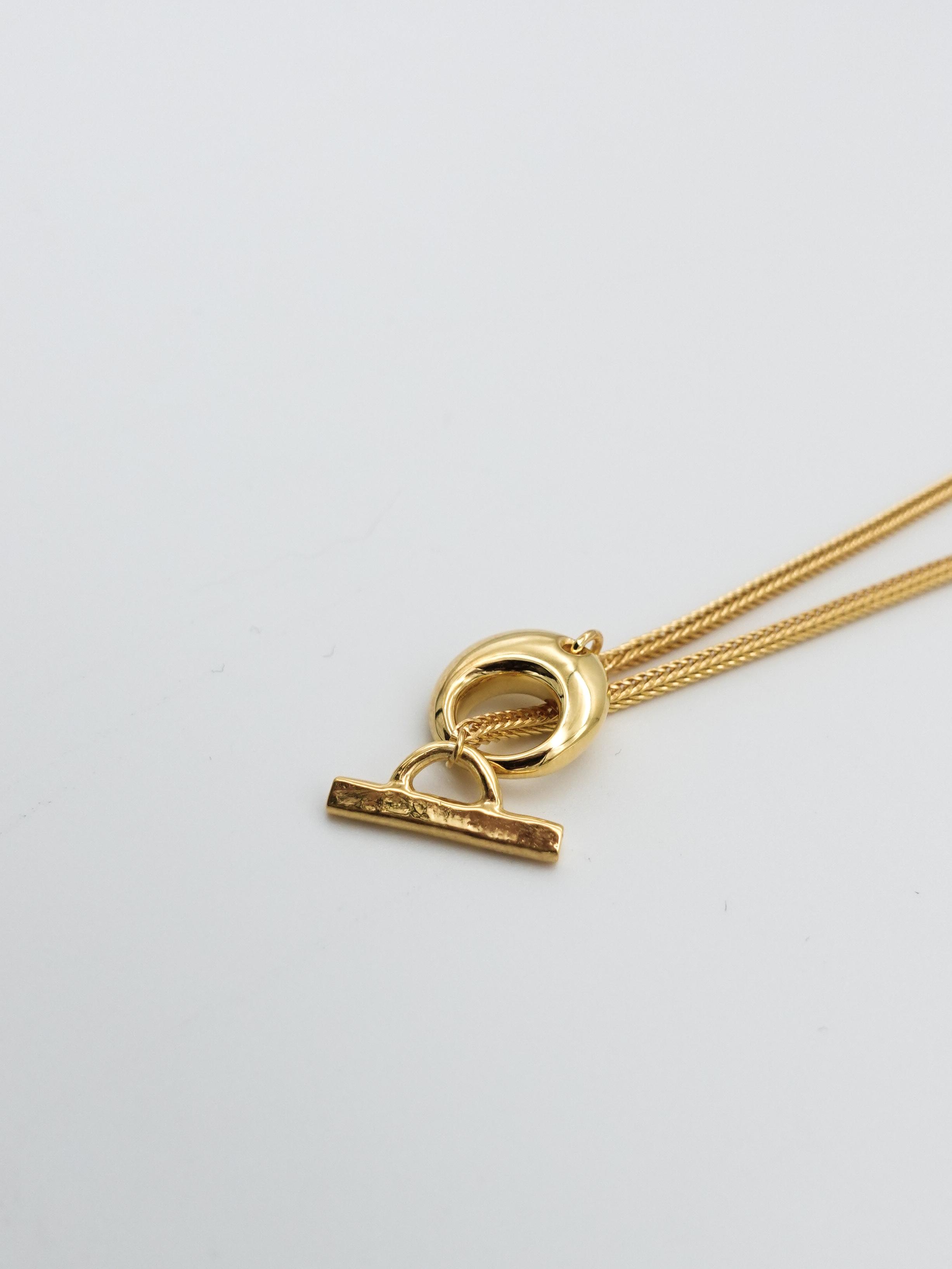新色:lilos ssl lariat necklace gold