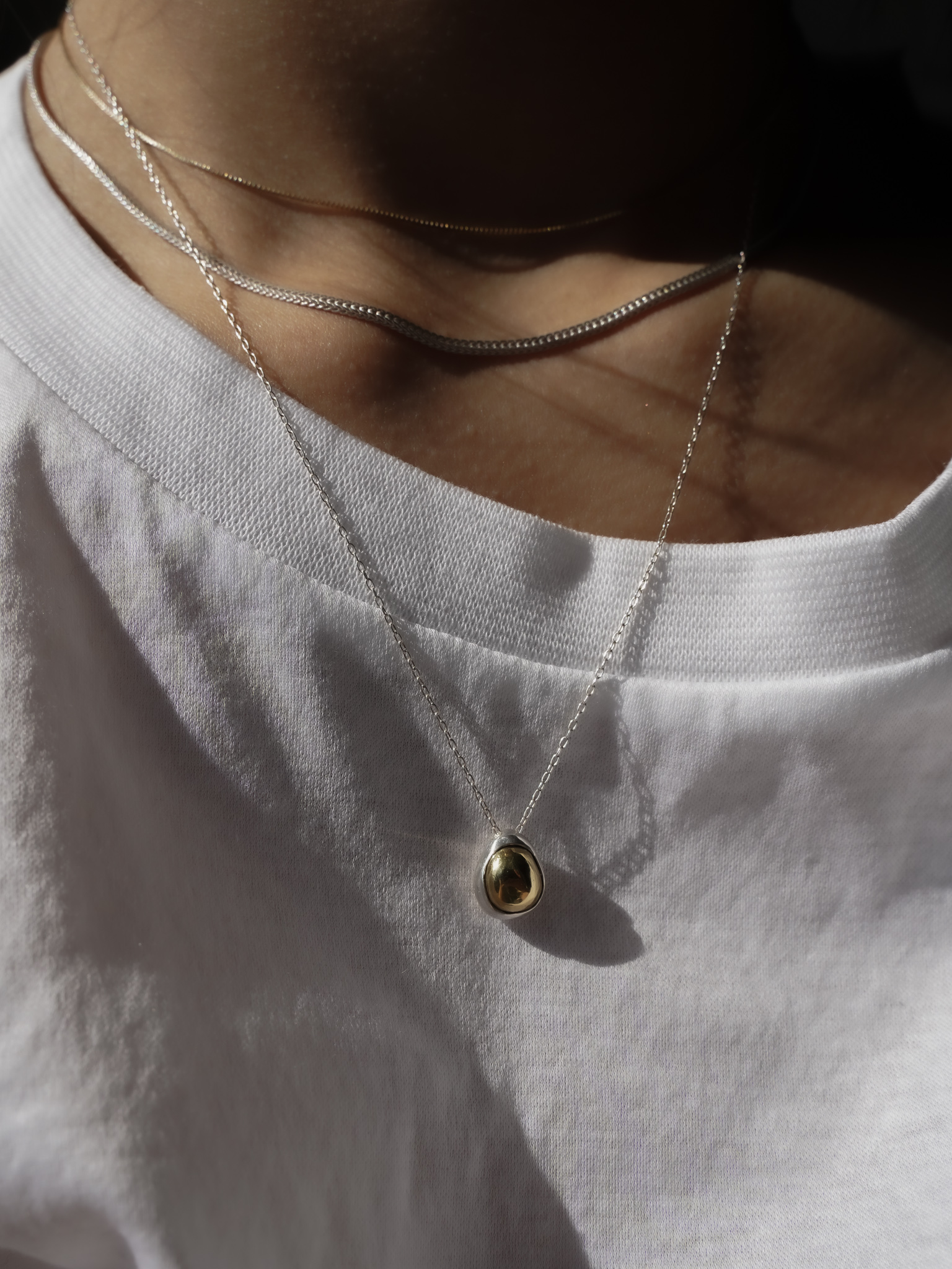 新作発売:2way combination necklace