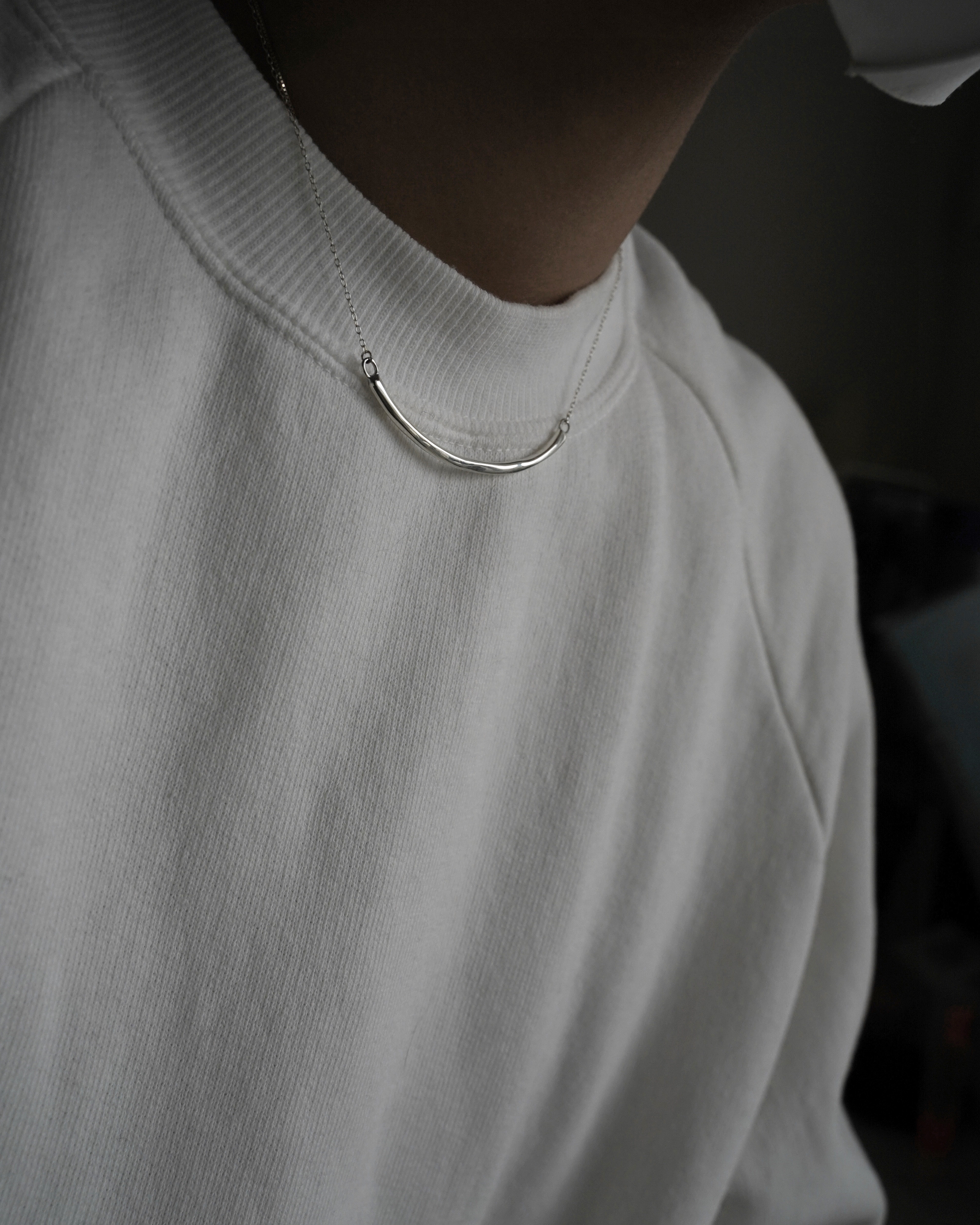 新作発売:raw necklace